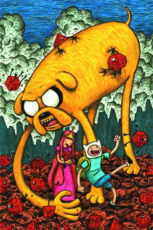 DO NOT USE (Duplicate Listing) Adventure Time #1 Incentive Jeffrey Brown Variant Cover