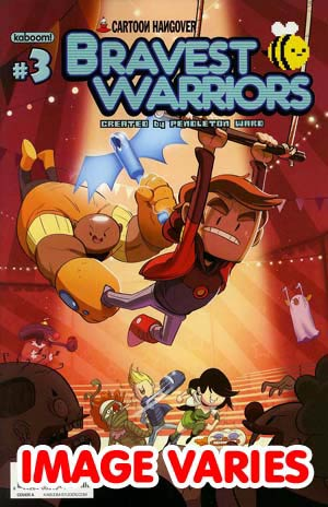 DO NOT USE (DUPLICATE LISTING) Bravest Warriors #3 Regular Cover (Filled Randomly With 1 Of 2 Covers)