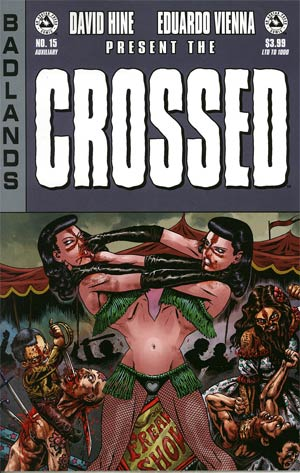 Crossed Badlands #15 Auxiliary Edition