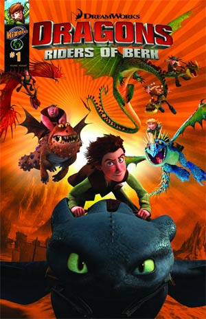 Dragons Riders Of Berk #1 Cvr A James Silvani
