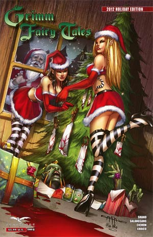 Grimm Fairy Tales 2012 Holiday Special Cover A Giuseppe Cafaro
