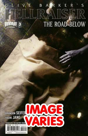 Clive Barkers Hellraiser Road Below #3 Regular Cover (Filled Randomly With 1 Of 2 Covers)