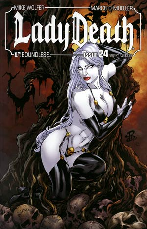 Lady Death Vol 3 #24 Sultry Cover