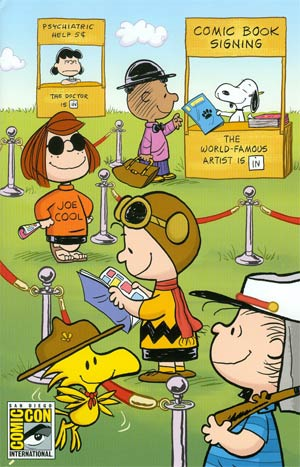 Peanuts Vol 3 #1 SDCC Exclusive Variant Cover