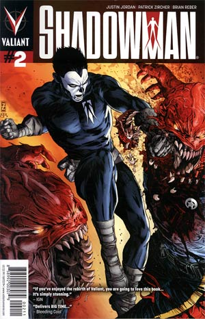 Shadowman Vol 4 #2 Cover A 1st Ptg Regular Patrick Zircher Cover