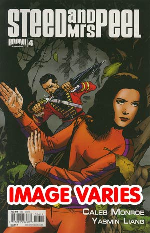 Steed And Mrs Peel Vol 2 #4 Regular Cover (Filled Randomly With 1 Of 2 Covers)