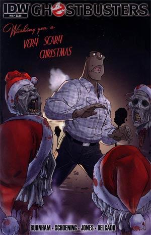 Ghostbusters #16 Regular Dan Schoening Cover