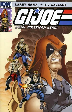 GI Joe A Real American Hero #185 Regular Ron Frenz & Sal Buscema Cover