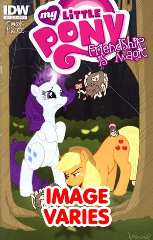 DO NOT USE (DUPLICATE LISTING) My Little Pony Friendship Is Magic #2 1st Ptg Regular Cover (Filled Randomly With 1 Of 3 Covers)