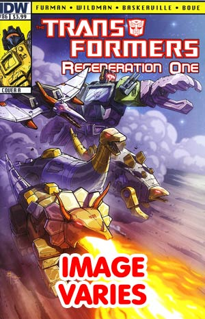 DO NOT USE Transformers Regeneration One #86 Regular Cover (Filled Randomly With 1 Of 2 Covers)