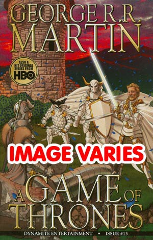 DO NOT USE Game Of Thrones #13 (Filled Randomly With 1 Of 2 Covers)