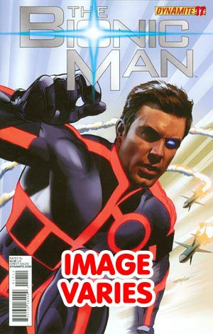 DO NOT USE Kevin Smiths Bionic Man #17 Regular Cover (Filled Randomly With 1 Of 2 Covers)