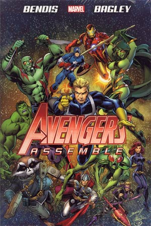 Avengers Assemble By Brian Michael Bendis HC Book Market Mark Bagley Cover