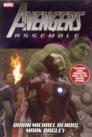 Avengers Assemble By Brian Michael Bendis HC Direct Market Movie Variant Cover