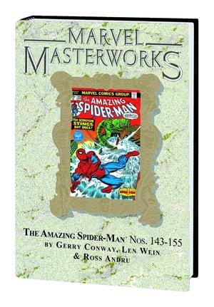 Marvel Masterworks Amazing Spider-Man Vol 15 HC Variant Dust Jacket