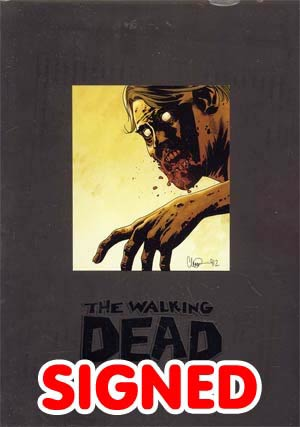 Walking Dead Omnibus Vol 4 HC Signed & Numbered Edition
