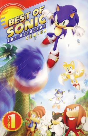 Best Of Sonic The Hedgehog Comics Vol 1 TP