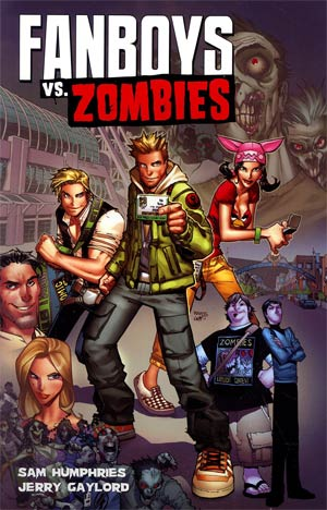 Fanboys vs Zombies Vol 1 Wrecking Crew 4 Lyfe TP