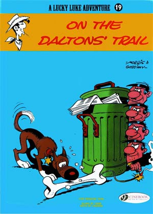 DO NOT USE (Duplicate Listing) Lucky Luke Adventure Vol 19 On The Daltons Trail TP