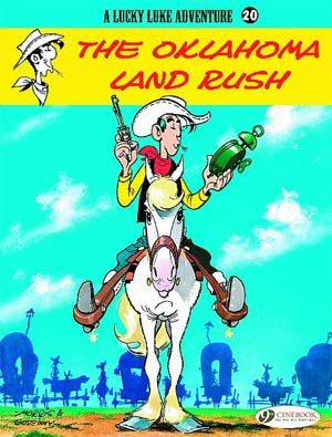 DO NOT USE (Duplicate Listing) Lucky Luke Adventure Vol 20 The Oklahoma Land Rush TP