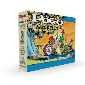 Pogo Complete Syndicated Comic Strips Box Set Vol 1 & 2 HC