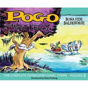 Pogo Complete Syndicated Comic Strips Vol 2 Bona Fide Balderdash HC