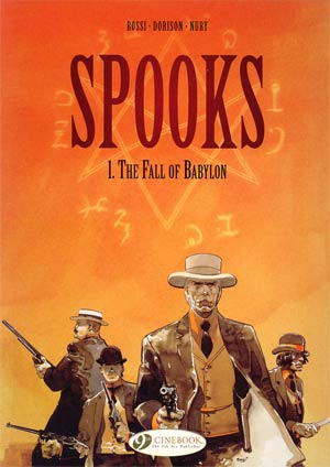 Spooks Vol 1 Fall Of Babylon TP