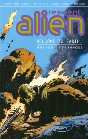 Resident Alien Vol 1 Welcome To Earth TP