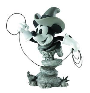 Grand Jester Two-Gun Mickey Mini Bust