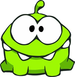 Cut The Rope Nommies 3-Pack Blind Mystery Box Display