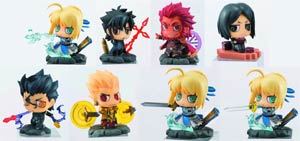 Fate/zero Petit Chara Land Mini Figure Blind Mystery Box 10-Piece Display