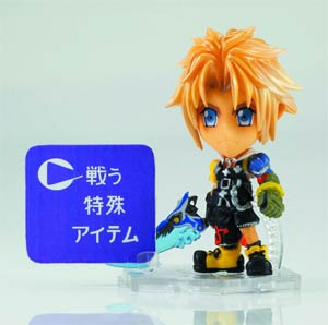 Final Fantasy Trading Arts Kai Mini Figure - Tidus