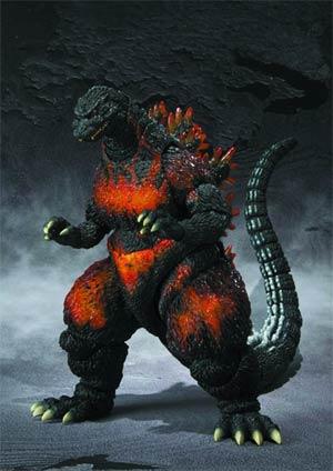 Godzilla S.H.MonsterArts - Burning Godzilla (Godzilla 1995) Action Figure