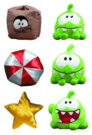 Cut The Rope 6-Inch Switch-A-Roos Plush Assortment Case