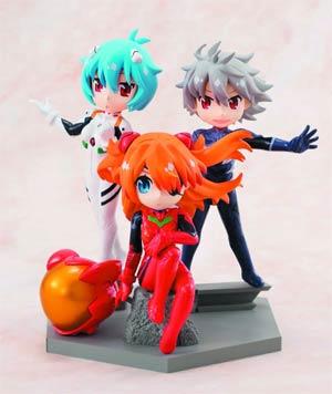 Neon Genesis Evangelion Petit Evangelion@School C-Style - Box Of 9 Figures