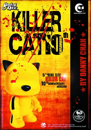 Killer Cat 5-Inch Mini Qee Vinyl Figure