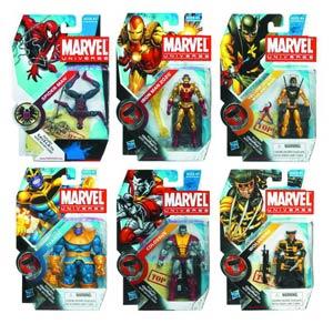 Marvel Universe Action Figure Assortment Case 201204