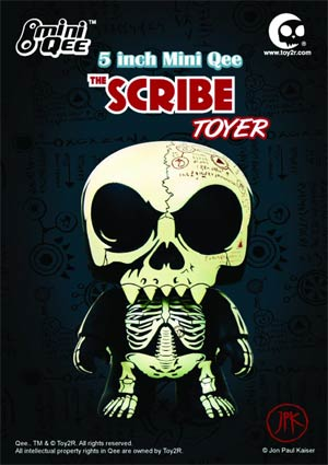 Scribe Toyer 5-Inch Mini Qee Vinyl Figure