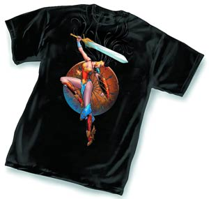 Ame-Comi Wonder Woman By Amanda Conner T-Shirt Large