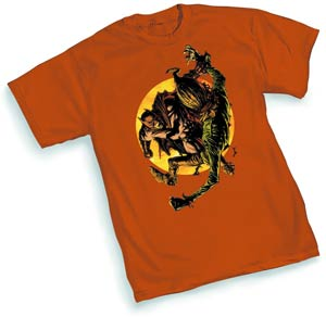 Batman & Scarecrow 52 By David Finch T-Shirt Large