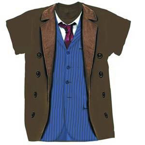 Doctor Who Tenth Doctor Costume T-Shirt Large