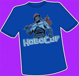 Hobocop T-Shirt Large