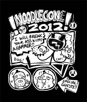Noodlecon Juniors T-Shirt Large
