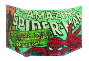 Marvel Heroes Genuine Leather Wallet - Amazing Spider-Man