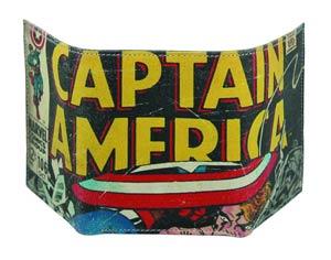Marvel Heroes Genuine Leather Wallet - Captain America