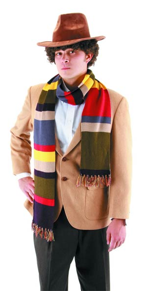Doctor Who Fourth Doctor Scarf 6 Feet