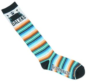 Doctor Who Ladies Socks - Fourth Doctor