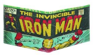 Marvel Heroes Genuine Leather Wallet - Iron Man