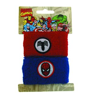 Marvel Heroes Double Wristband Set - Spider-Man