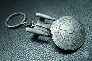 Star Trek The Next Generation USS Enterprise NCC-1701-D Keychain